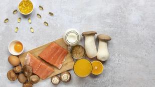 Ezek az élelmiszerek tartalmazzák a legtöbb természetes D-vitamint. Infografika!