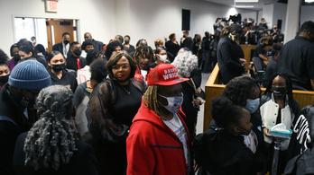 Most temetik Daunte Wright-ot, több százan gyűltek össze Minnepolisban