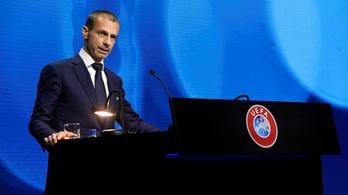 Ceferin: a lázadó kluboknak viselniük kell a következményeket