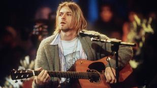 Kurt Cobain nem akart ócska és közönséges nevet a zenekarának – így lett Nirvana