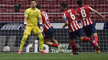 Az Atlético visszavette a vezetést a spanyol bajnokságban