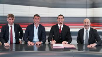 A történet folytatódik: Ibra hosszabbított az AC Milannal