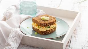 Legyen a tojássaláta még egészségesebb – zellerrel és fejes salátával dobtuk fel