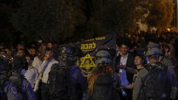 Ultranacionalista zsidók csaptak össze palesztinokkal, legalább százan megsérültek