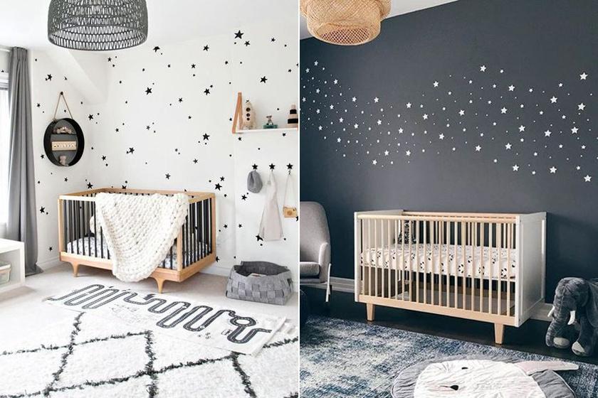 A pici babák az első hónapokban homályosan látnak, a kontrasztos, monokróm színeket és formákat jobban észreveszik, mint a lágyabb árnyalatokat. A fekete, szürke és fehér színek kombinációja remek a csecsemők agyának fejlődése előmozdítására, valamint a vizuális észlelés segítésére.