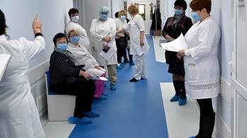 Ukrajnában átlépte a kétmilliót az igazolt fertőzöttek száma