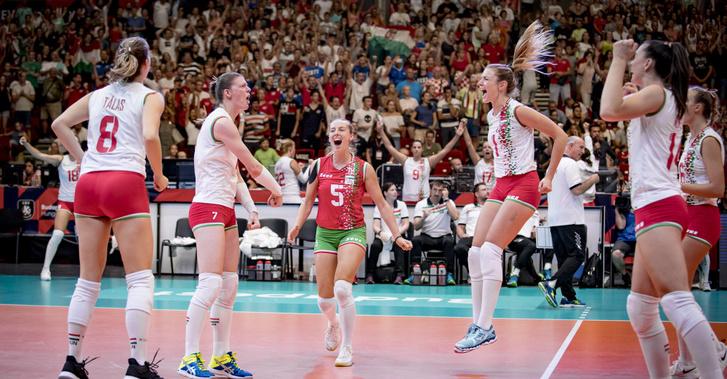 A női röplabda-válogatott hazai pályán játszhatott az Eb-n 2019-ben