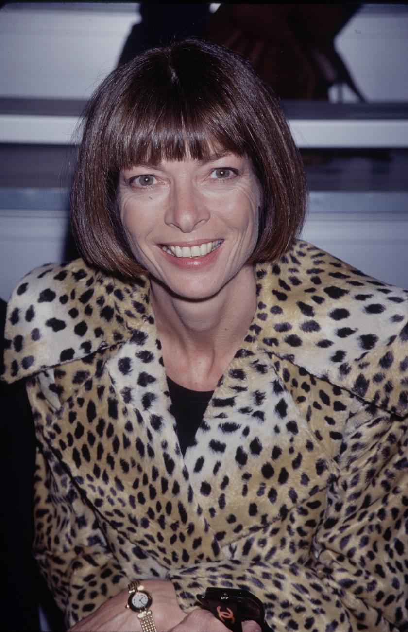 Anna Wintour 1990-ben.