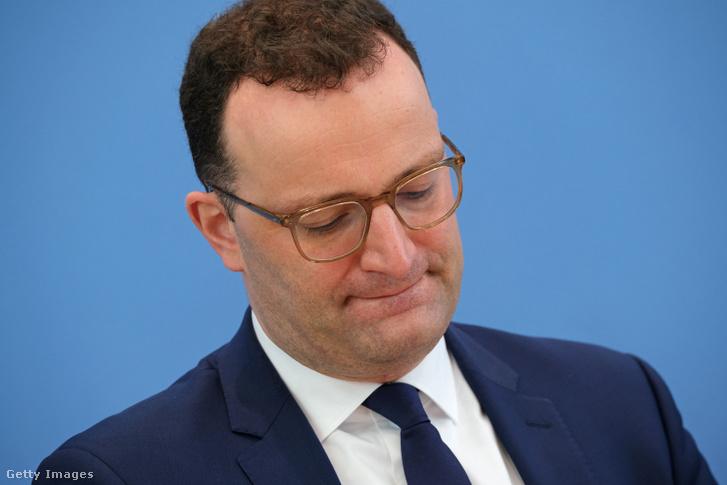 Jens Spehn német egészségügyi miniszter
