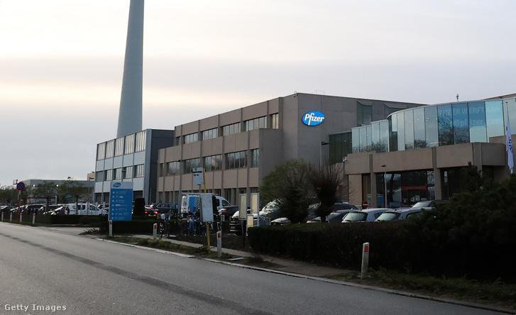 A Pfizer üzeme a belgiumi Puursban