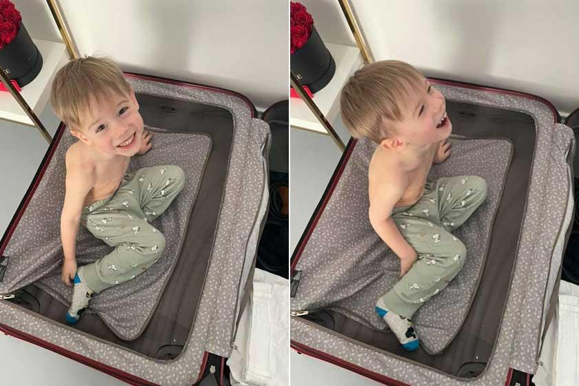 """""""Tegnap volt 3 éves a kis tökfej"""" - írta Vasvári Vivien a Facebookon április 23-án. Rajongói nem győzték hangsúlyozni, milyen nagyfiú már Edward."""