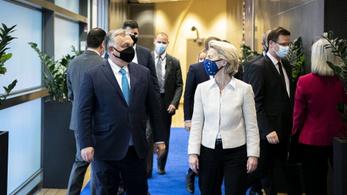 A jogállamiság is téma volt Orbán Viktor és Ursula von der Leyen megbeszélésén