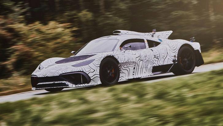 Mercedes-AMG Project One, az autók Star Citizenje.