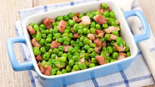 Borsó, újhagyma és házi majonéz – ezzel a tavaszi salátával turbózd fel az immunrendszered!