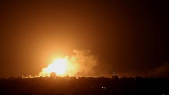 Izrael lecsapott a Hamászra a Gázai övezetben