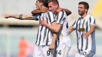 Hiába Morata rekordja, a Juventus nem tudott nyerni