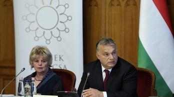 Orbán Viktor is elbúcsúzott Monspart Saroltától
