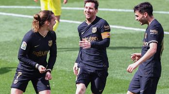 Hátrányból fordította meg a rangadót a Barcelona