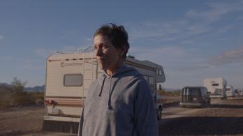 Két nő, egy film, A nomádok földje három Oscar-díjat begyűjtött