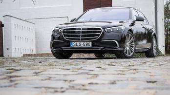 Teszt: Mercedes-Benz S 500 4matic - 2021.
