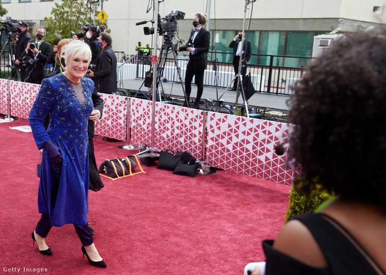 Glann Close-t idén nyolcadszorra jelölték, de még sosem díjazták Oscarral.