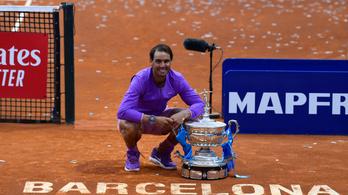 Barcelonai sikerével Nadal újra a második helyre lépett