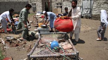 Rakétával támadtak egy kormányépületre Afganisztánban