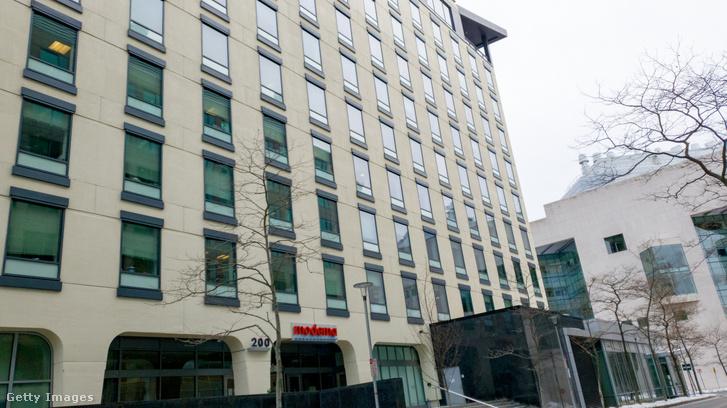 A Moderna székháza a Massachussets állambeli Cambridge-ben