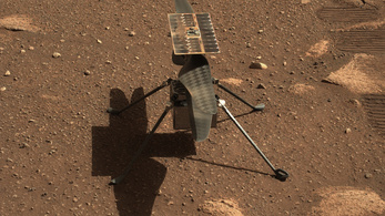 Rutinszerűen röpköd a NASA helikoptere a Marson