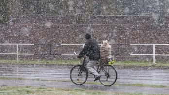 Van, ahol áprilisban is esik a hó
