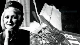 Tízezer métert zuhant egy felrobbant repülőgépből, túlélte, utána kért egy cigit a világ legszerencsésebb stewardesse