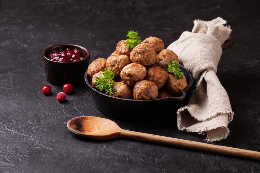 A híres, svéd húsgolyó receptje: otthon is egyszerűen elkészítheted