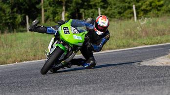 Használt: Kawasaki Ninja 300 pályamotor