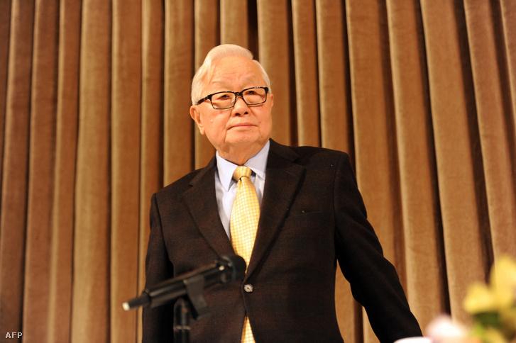 Morris Chang 2013. január 17-én