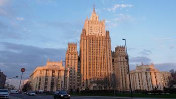 Moszkva kiutasította az ukrán nagykövetség egyik munkatársát