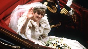 Idén nyáron kiállítják Diana hercegné esküvői ruháját