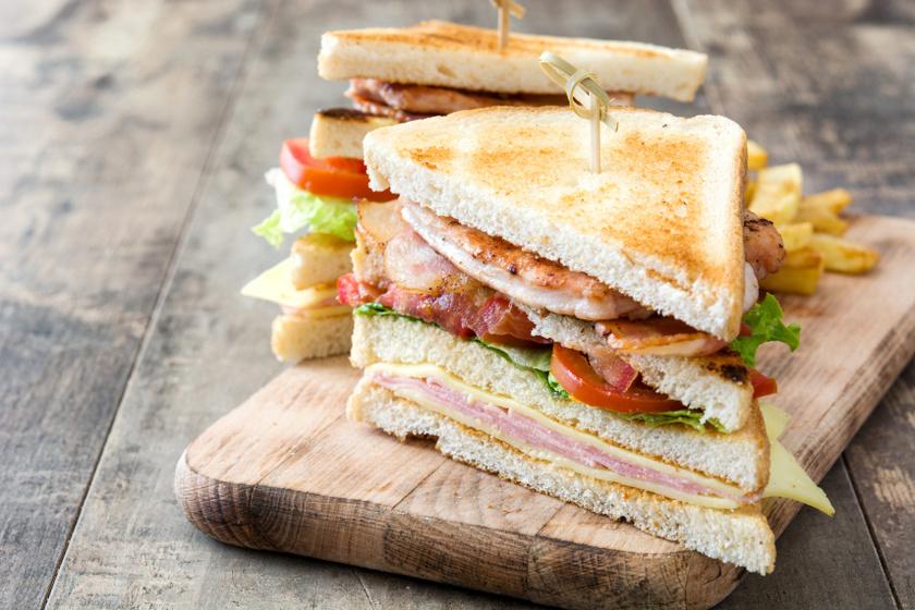 klub szendvics recept