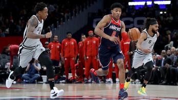 NBA: 289 pont és hosszabbítás után dőlt el a Spurs–Wizards