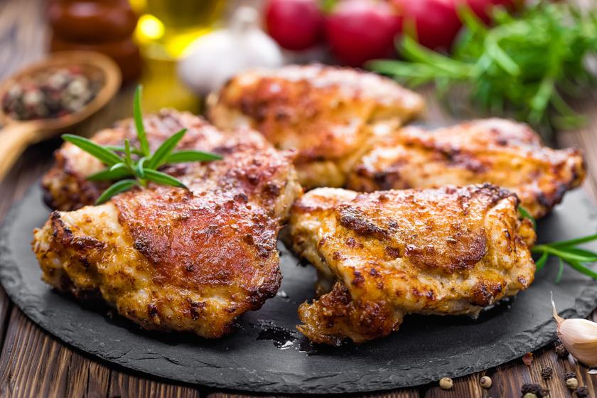 rozmaringos csirkecomb recept