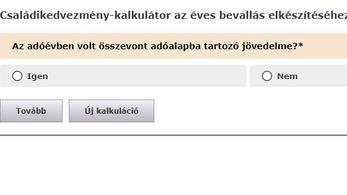 Már használható a családikedvezmény-kalkulátor a NAV honlapján