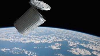 Hálóval gyűjti az űrszemetet a kínai robot