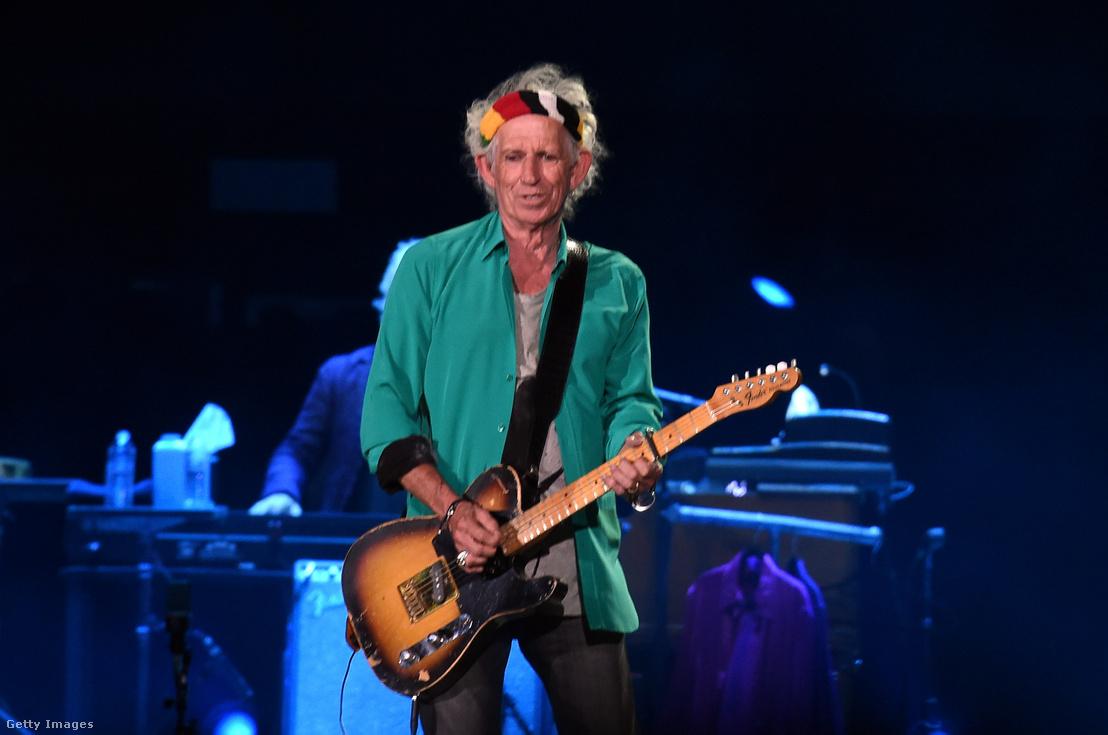 Keith Richards, a Rolling Stones gitárosa is megihlette Johnny Deppet Jack Sparrow megformálásához