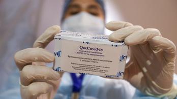 Bemutatták a kazah koronavírus-vakcinát