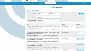 Gyorsan meg is szűnt az online AstraZeneca-foglalási lehetőség