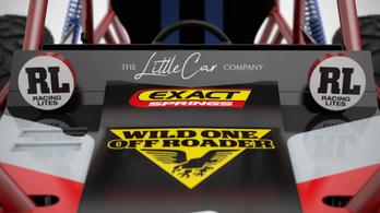 Wild One Max: játékautó, felnőtt méretben
