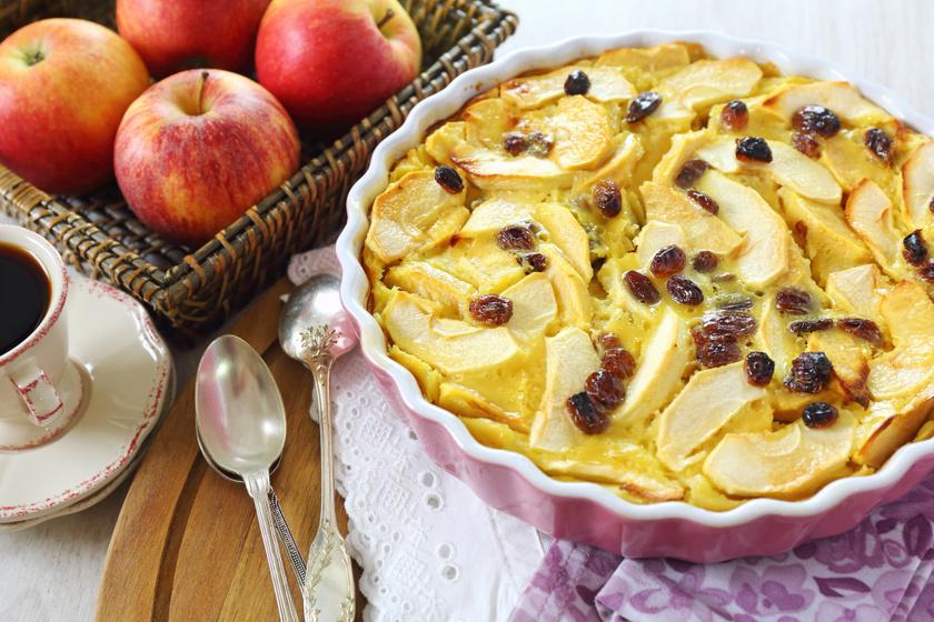 Fahéjas, almás tejpite: még a piskótánál is sokkal puhább