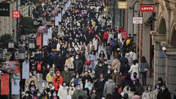 Megtorpant a kínai népesség gyarapodása