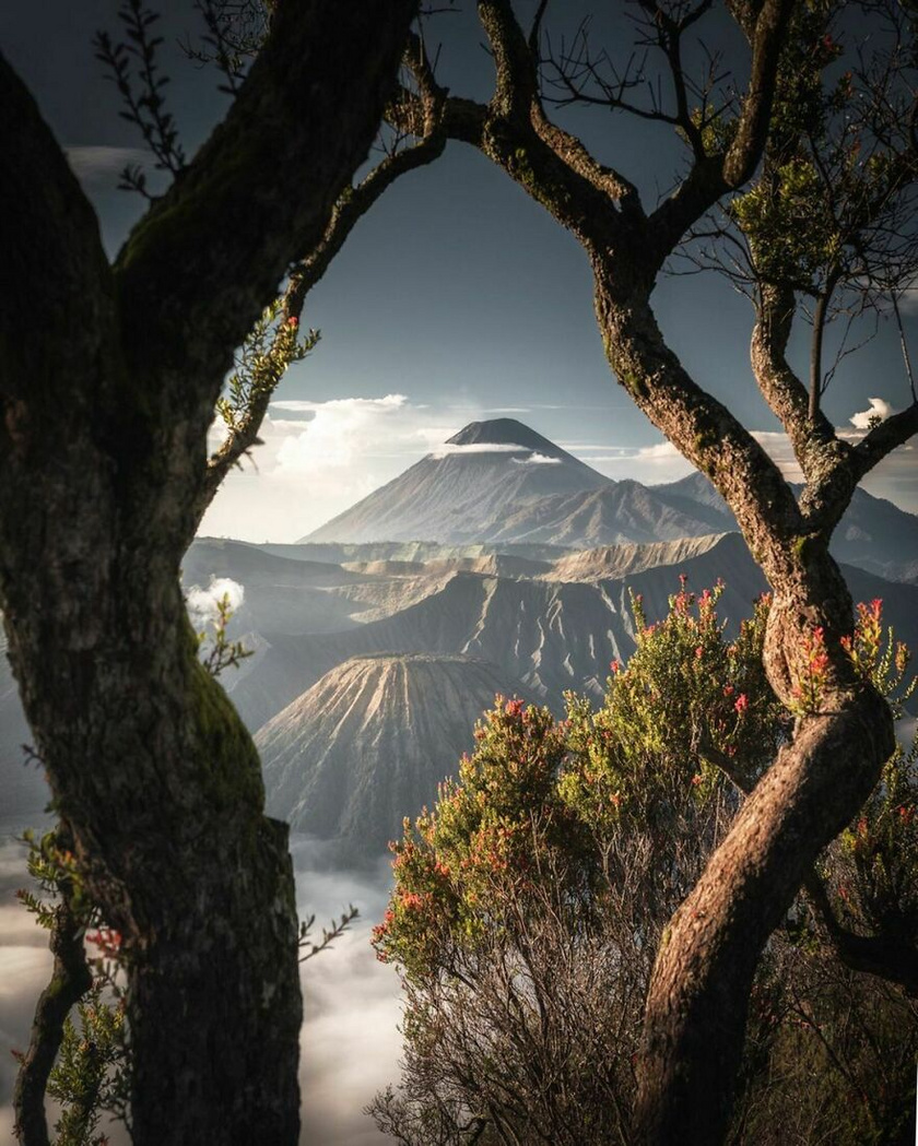 Bromo-hegy, Indonézia