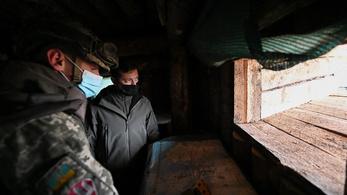 Nem mentek el az oroszok, az ukrán hadsereg teljes harckészültségben