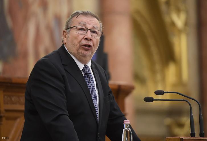 Kovács Árpád a Költségvetési Tanács elnöke felszólal a Magyarország 2021. évi központi költségvetéséről szóló javaslat általános vitájában az Országgyűlés plenáris ülésén 2020. június 10-én